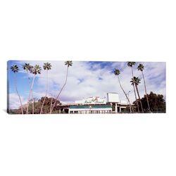 Panoramic 'Rose Bowl Stadium, Pasadena, California' Photographic Print on Canvas