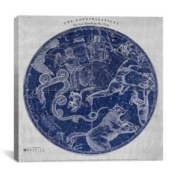 Maps and Charts Prints the Stars Constellations of the Northern Hemisphere (Burritt 1856) ...