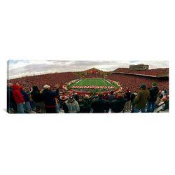 Panoramic Camp Randall Stadium, University of Wisconsin, Madison, Dane County, Wisconsin ...