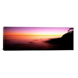 Panoramic Sea at Sunset, Point Lobos State Reserve, Carmel, Monterey County, California ...