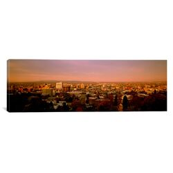 Panoramic Washington, Spokane, Cliff Park, High Angle View of Buildings in a City Photographic ...