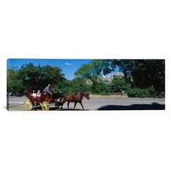 Panoramic New York City, New York State Photographic Print on Canvas