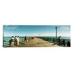 Panoramic Brooklyn, New York City, New York State Photographic Print on Canvas