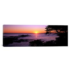 Panoramic Sunset over the Sea, Point Lobos State Reserve, Carmel, Monterey County, California ...