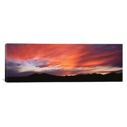 Panoramic Sunset over Black Hills National Forest Custer Park State Park South Dakota ...