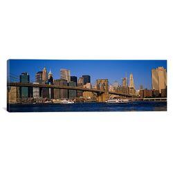 Panoramic Brooklyn Bridge, East River, Manhattan, New York City, New York State Photographic ...