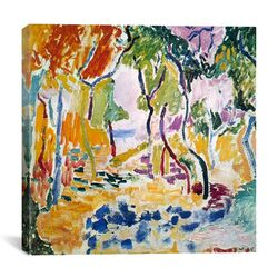 'The Joy of Life (1905)' by Henri Matisse Painting Print on Canvas