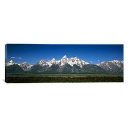 Panoramic Teton Point Turnout, Teton Range, Grand Teton National Park, Wyoming Photographic ...