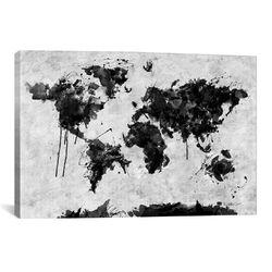 Wild World by Maximilian San Graphic Art on Canvas