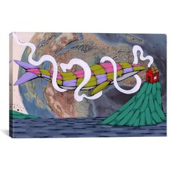 My Home is the Sea Canvas Wall Art by Ric Stultz