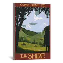 Come Home to the Shire Canvas Print Wall Art