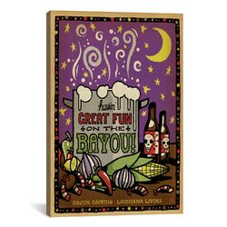 'South Carolina Series: Fun On the Bayou' by Anderson Design Group Painting Print on Canvas ...
