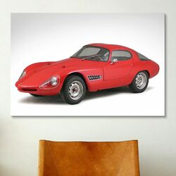 Cars and Motorcycles 1959 Abarth-alfa Romeo 1300 Berlinett Photographic Print on Canvas