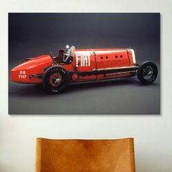 Cars and Motorcycles 1923 Fiat Mephistopheles Photographic Print on Canvas