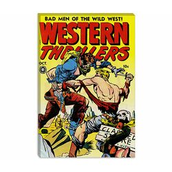 Bad Man of The Wild West (Western Thrillers - Comic Books) Vintage Poster
