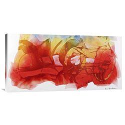 'Venerdi 12 Marzo 2010 B' by Nino Mustica Painting Print on Canvas