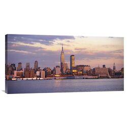 'Skyline of New York City' Photographic Print on Canvas