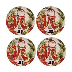 Regal Holiday Santa Accent Plate