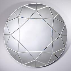 Homka Round Diamond Mirror