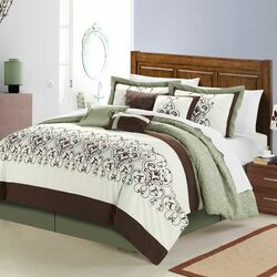 Troy 12 Piece Comforter Set