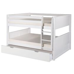 Camaflexi Full Bunk Bed with Twin Trundle I
