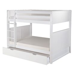 Camaflexi Full Bunk Bed with Twin Trundle II
