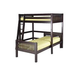 Twin Over Twin L-Shaped Loft Bed