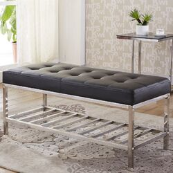 Luxury Upholstered Entryway Bench