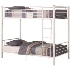 Sunrise Twin over Twin Bunk Bed with Built-In Ladder