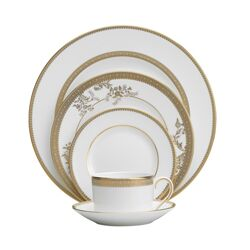Vera Lace 5 Piece Place Setting