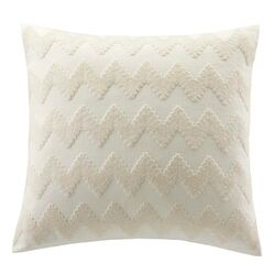 Mykonos Cotton Linen Square Throw Pillow