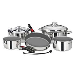 Nestable Induction Cook-Top 10 Piece Cookware Set by Magma Products