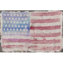 American Beauty Graphic Art on Canvas