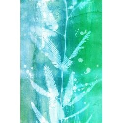 Leaf House Graphic Art on Canvas