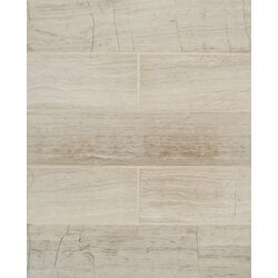 Maison Marble Honed Mosaic Field Tile in�Ashen Grey