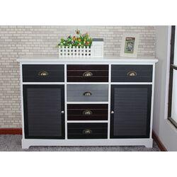 Burnside 6 Drawer 2 Door Cabinet