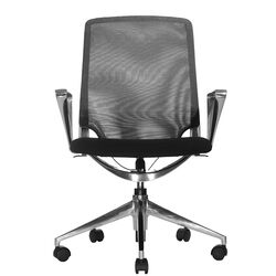 Marco Low-Back Mesh Chair with Adjustable Armrest