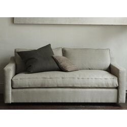 Crosby Linen Loveseat