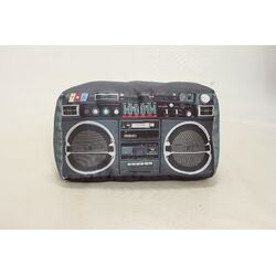 Retro Boom Box Pillow