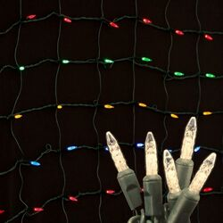 108 Light LED Net Light
