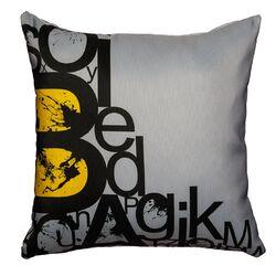 'Alphabets' Throw Pillow
