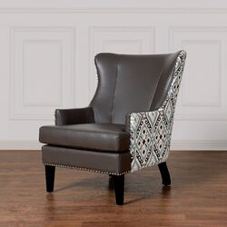 Soho Ikat Wing Chair