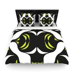 Green White Jaws Duvet Cover Collection