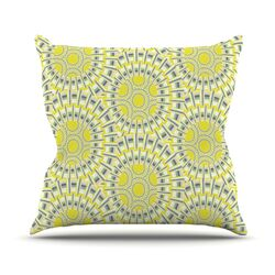 Sprouting Cells Throw Pillow