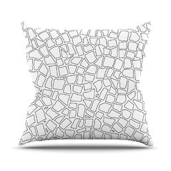 British Throw Pillow