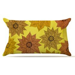 Its Raining Flowers Pillow Case