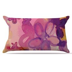 Dissolved Flowers Pillow Case