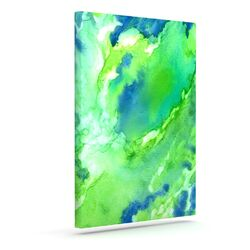 'Touch of Blue' by Rosie Brown Graphic Art on Wrapped Canvas