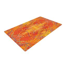 Sunrise Orange/Gold Area Rug