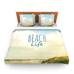 Beach Life by Iris Lehnhardt Fleece Duvet Cover